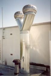Ventilační turbíny Ostrava
