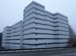 CITY PARK České Budějovice -Prosklené hliníkové fasády, okna a dveře