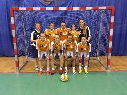 Ženské futsalové družstvo FB Baník Ostrava